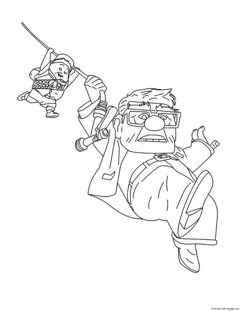 Download Up Coloring Pages