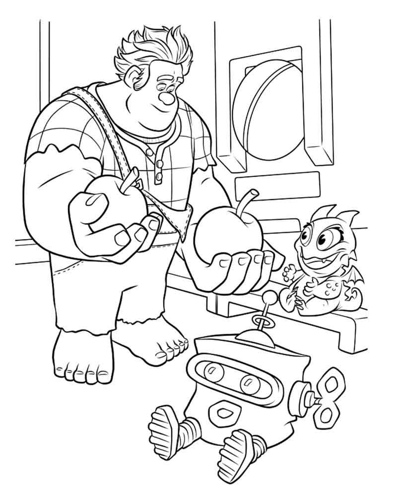 Download Wreck It Ralph Coloring Pages