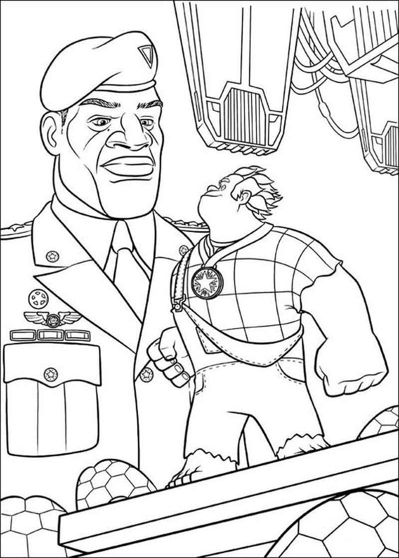 Download Wreck It Ralph Coloring Pictures
