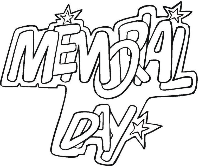 Download Memorial Day Coloring Pages