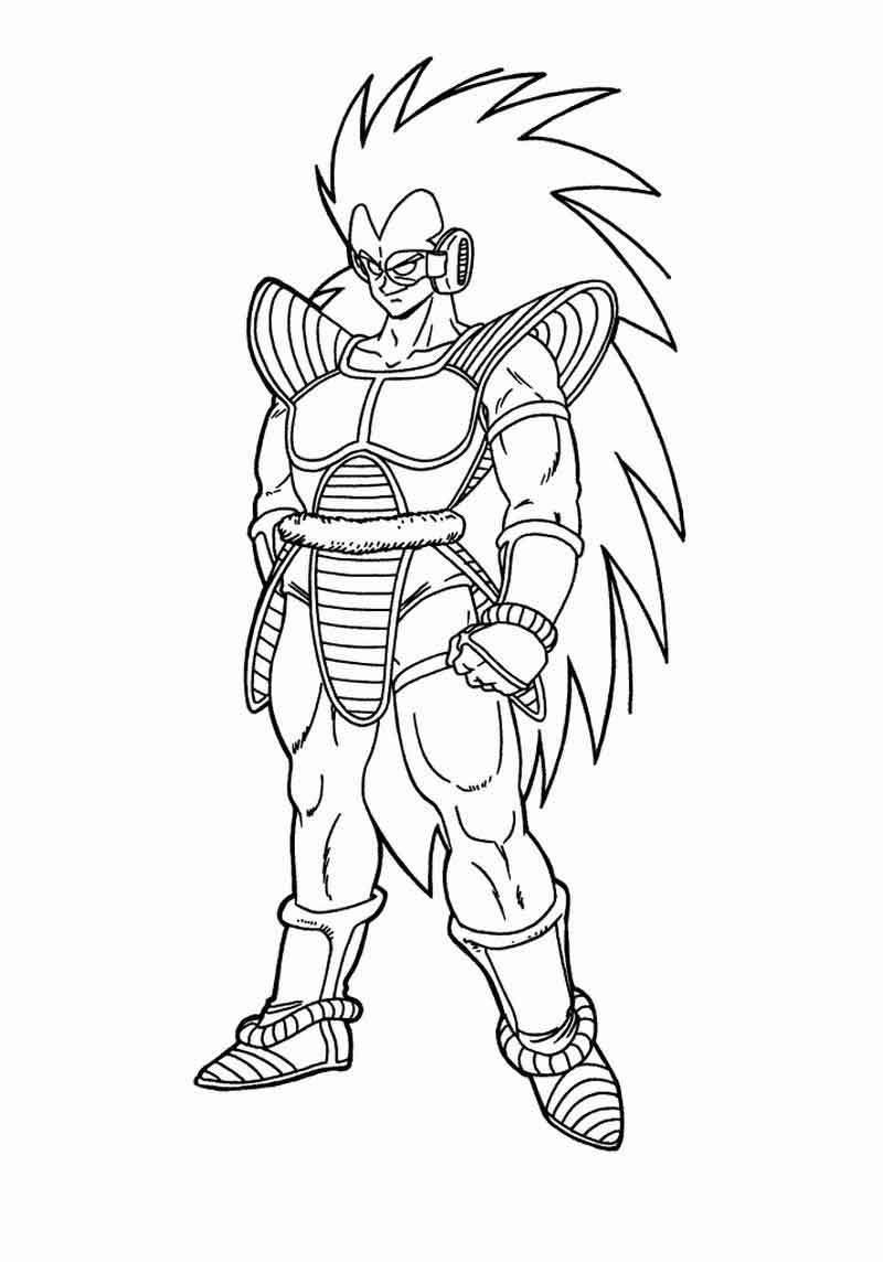 Dragon Ball Z Coloring Pages For Kids