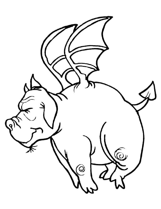 Dragon Coloring Pages 2 001