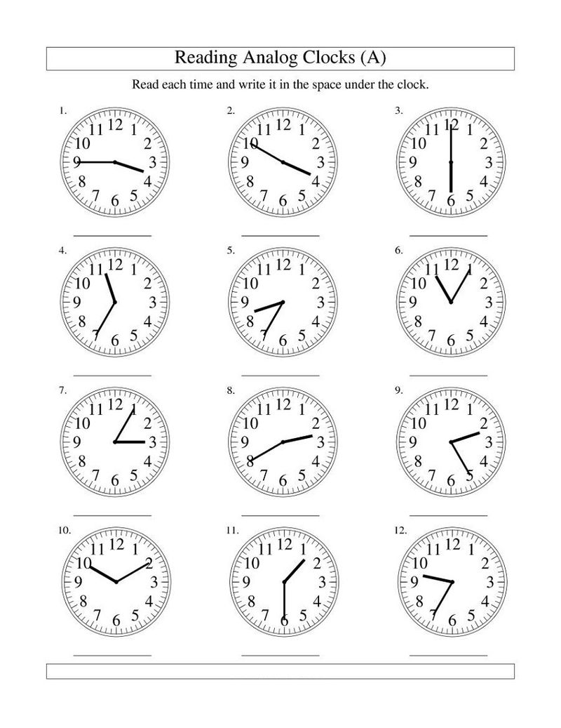 Easy Elapsed Time Worksheets Calculating