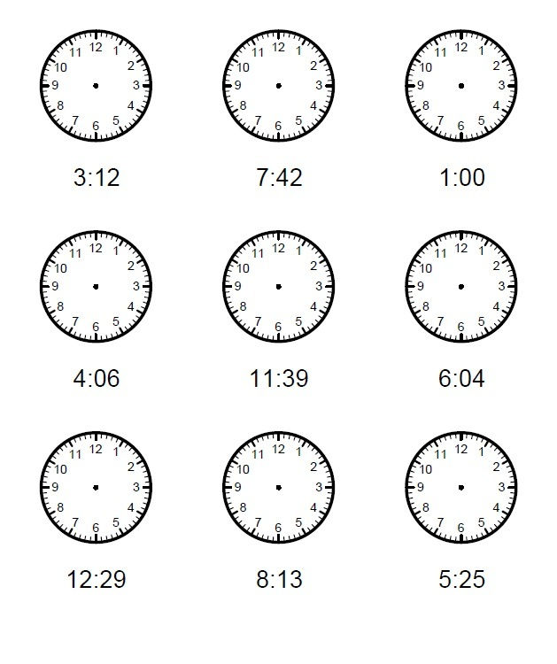 Elapsed Time Worksheets Practice 001