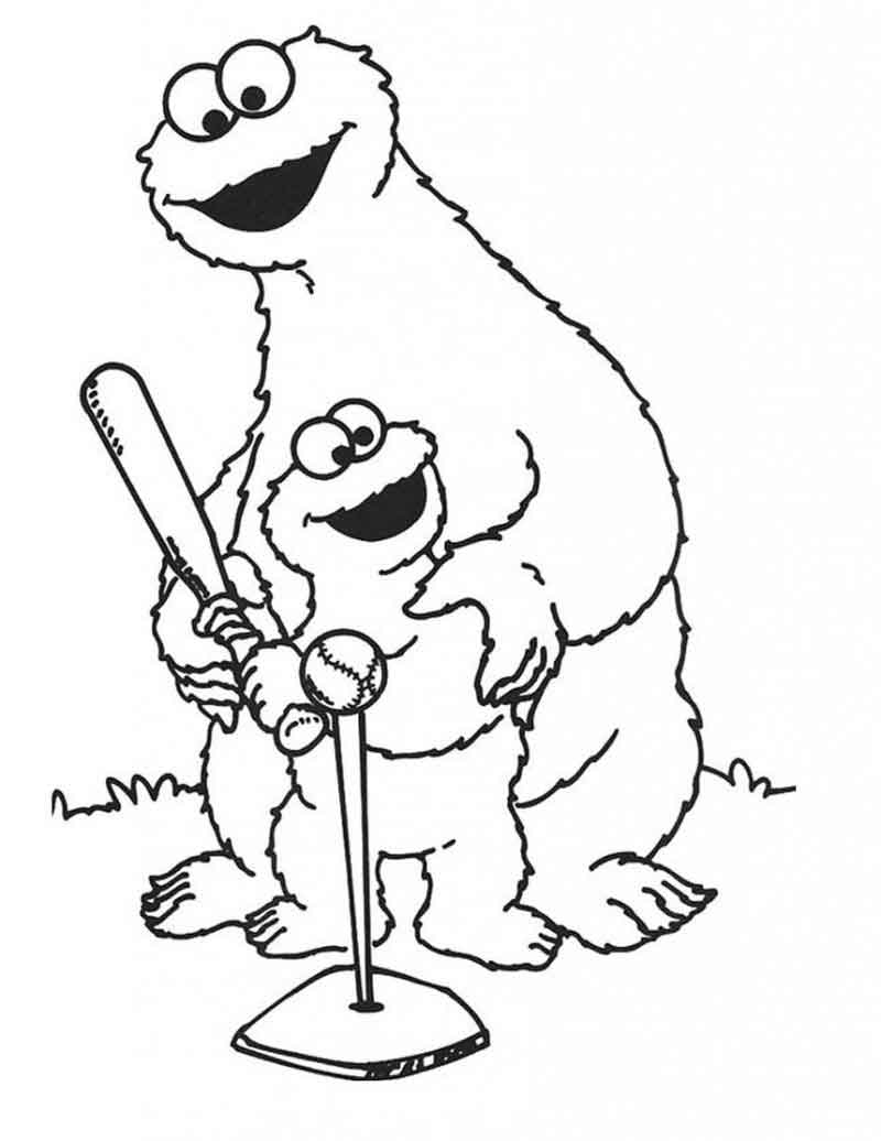 Elmo Coloring Pages Free To Print