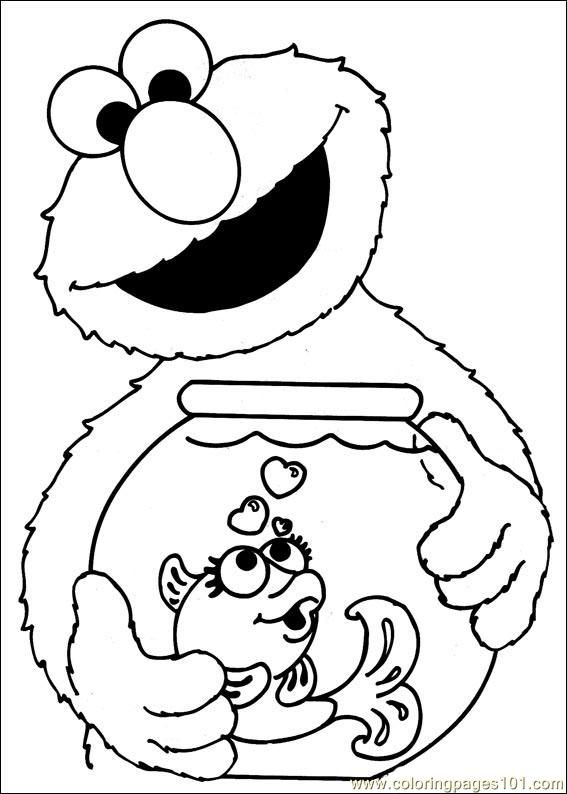 Elmo And Dorothy Sesame Street Coloring Pages