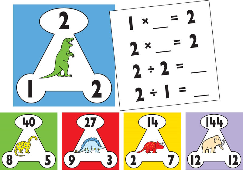 Fact Triangles Worksheet For Kids