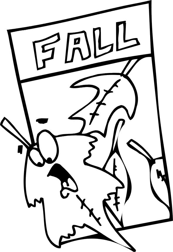 Fall Coloring Pictures