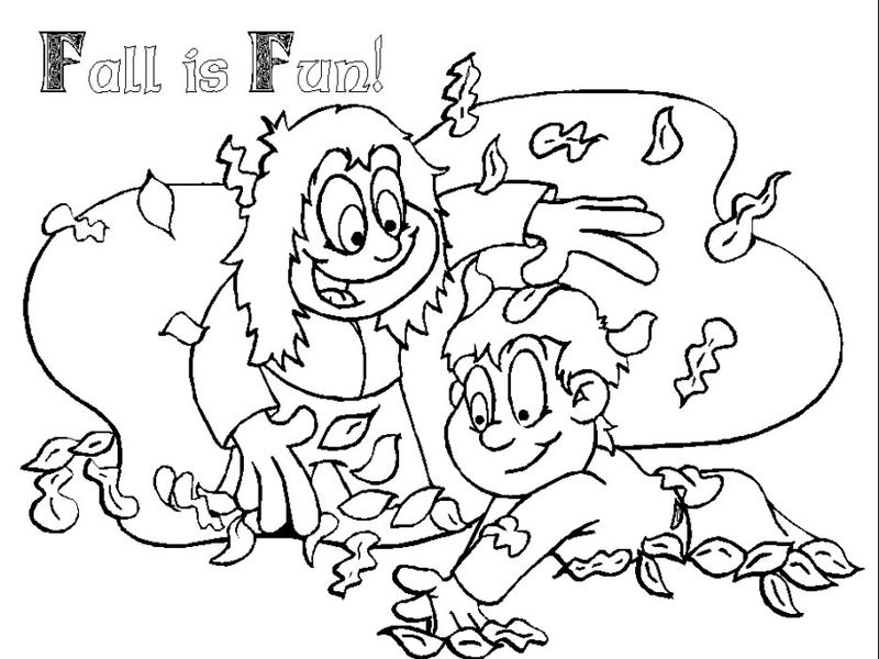 Fall Coloring Sheets 5 001