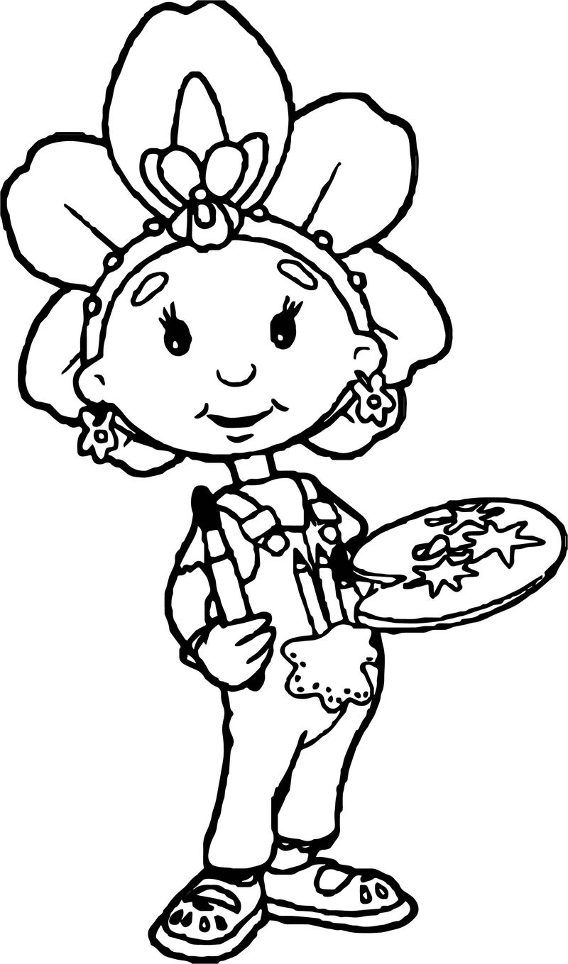 Fifi And The Flowertots Painter Coloring Page