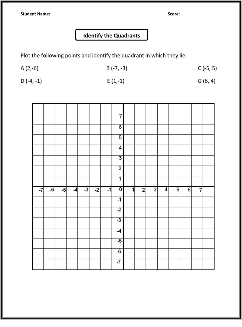 Fifth grade worksheets printable graphs 001