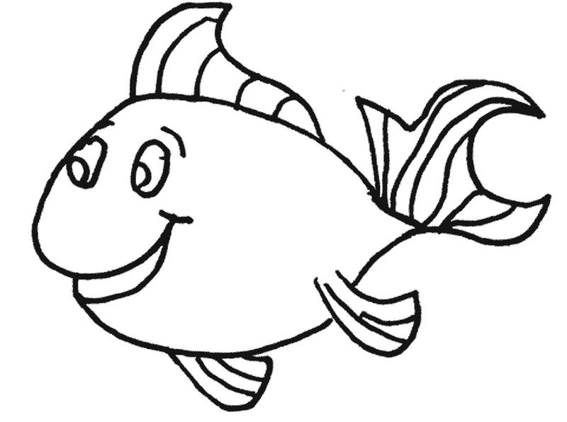 Fish Color Pages Free