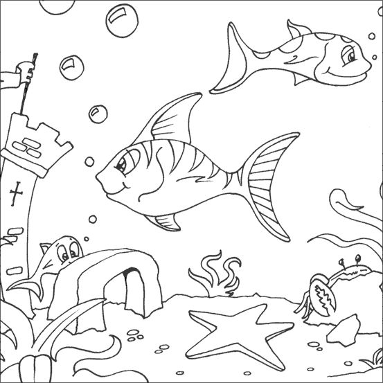 Fish Color Sheet To Print 001