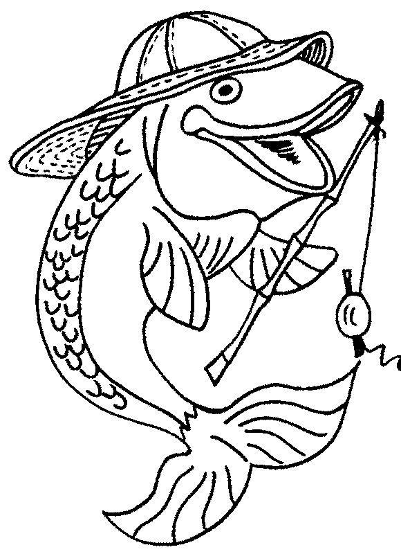 Fish Coloring Pages For Kid