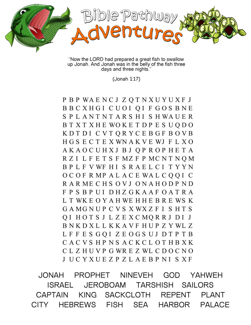Fish Word Search Adventure 001