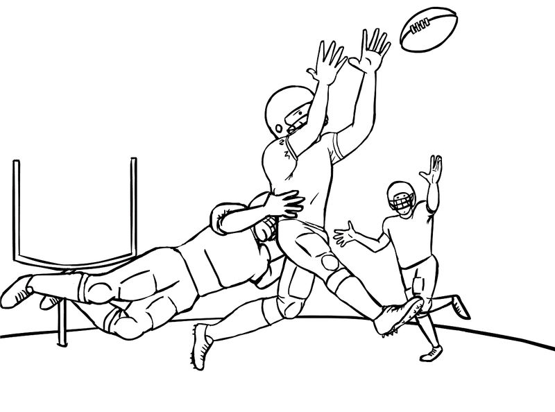 Football Coloring Pages 2016