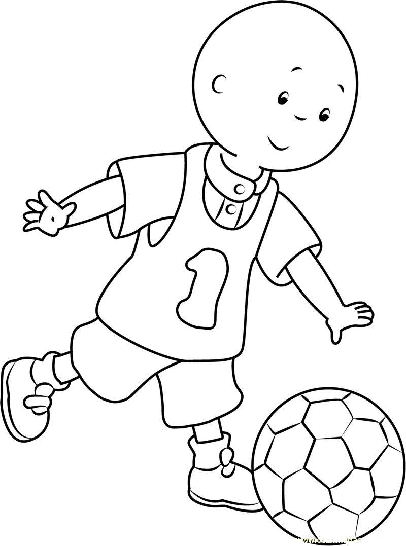 Football Coloring Picture Printable 001