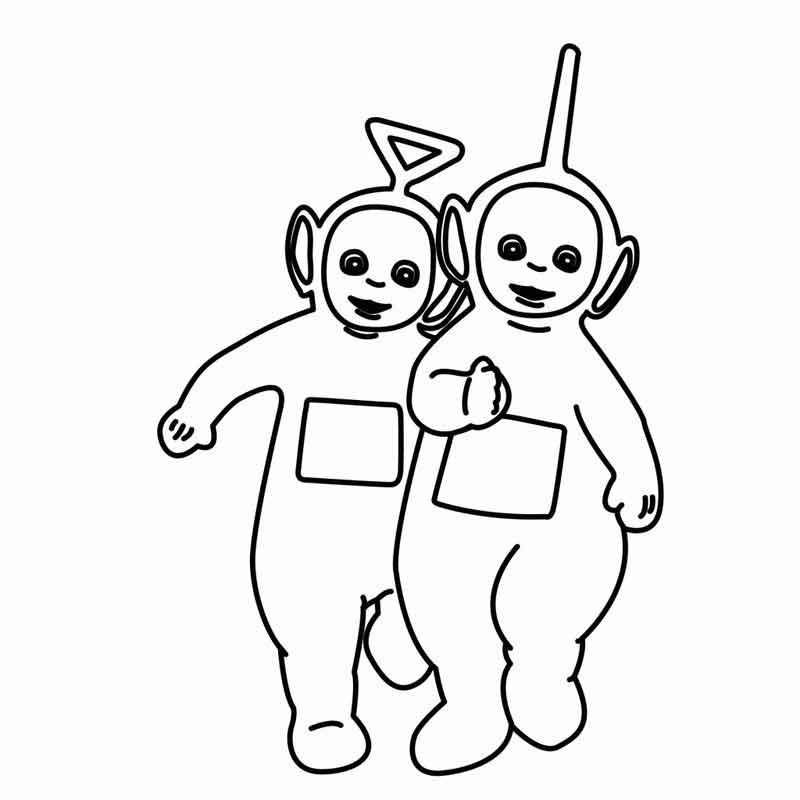 Free Coloring Pages Of Teletubbies
