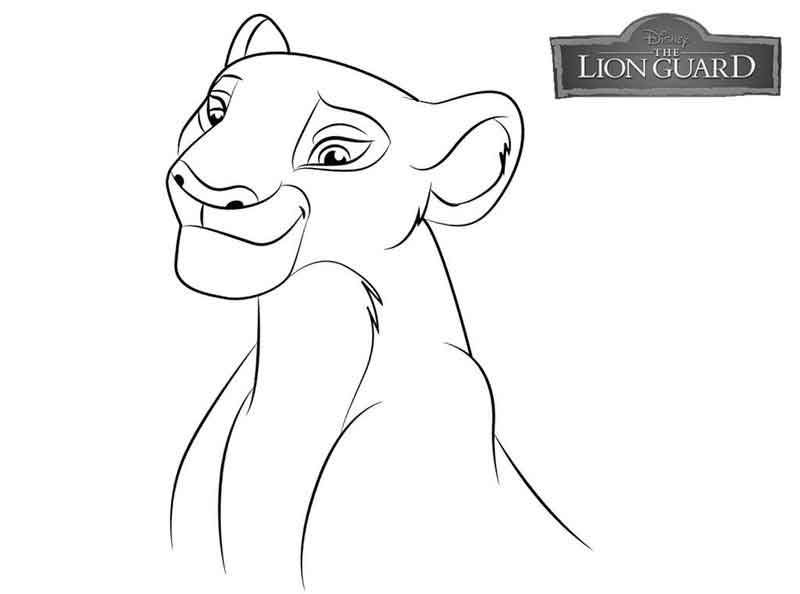 Free Lion Guard Coloring Pages