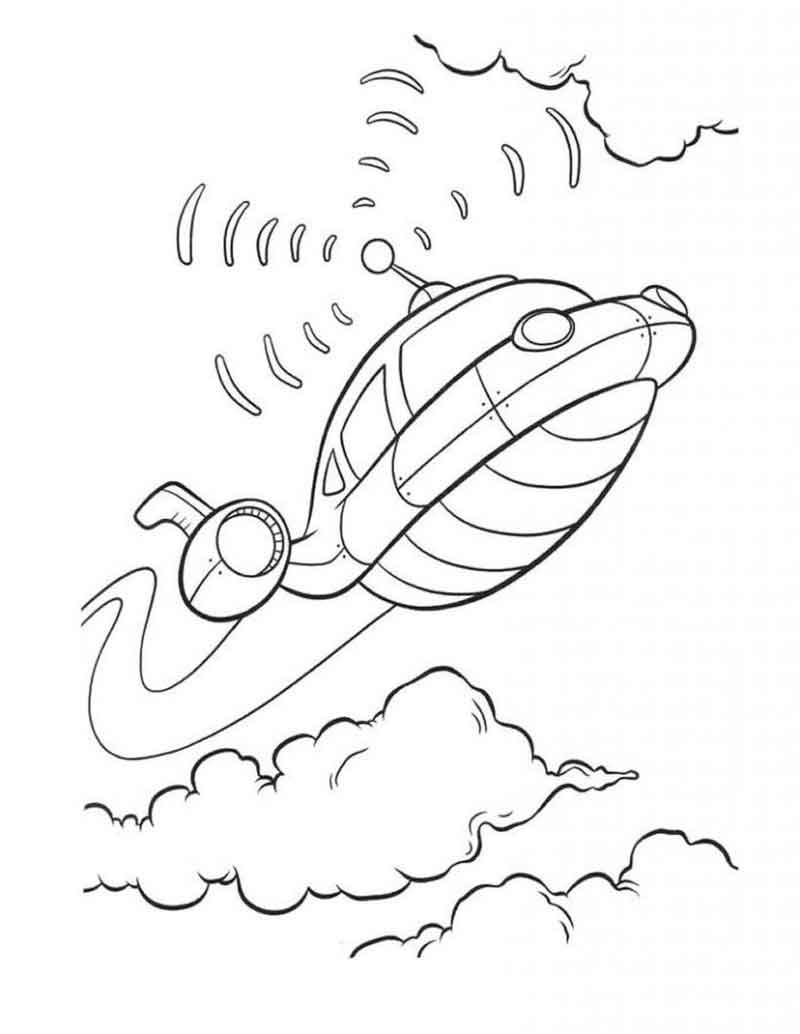 Free Little Einsteins Coloring Pages
