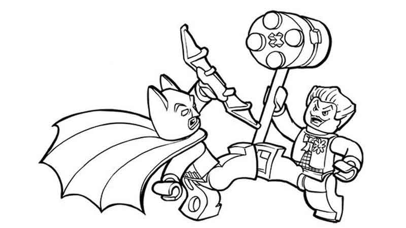 Free Printable Joker Coloring Pages