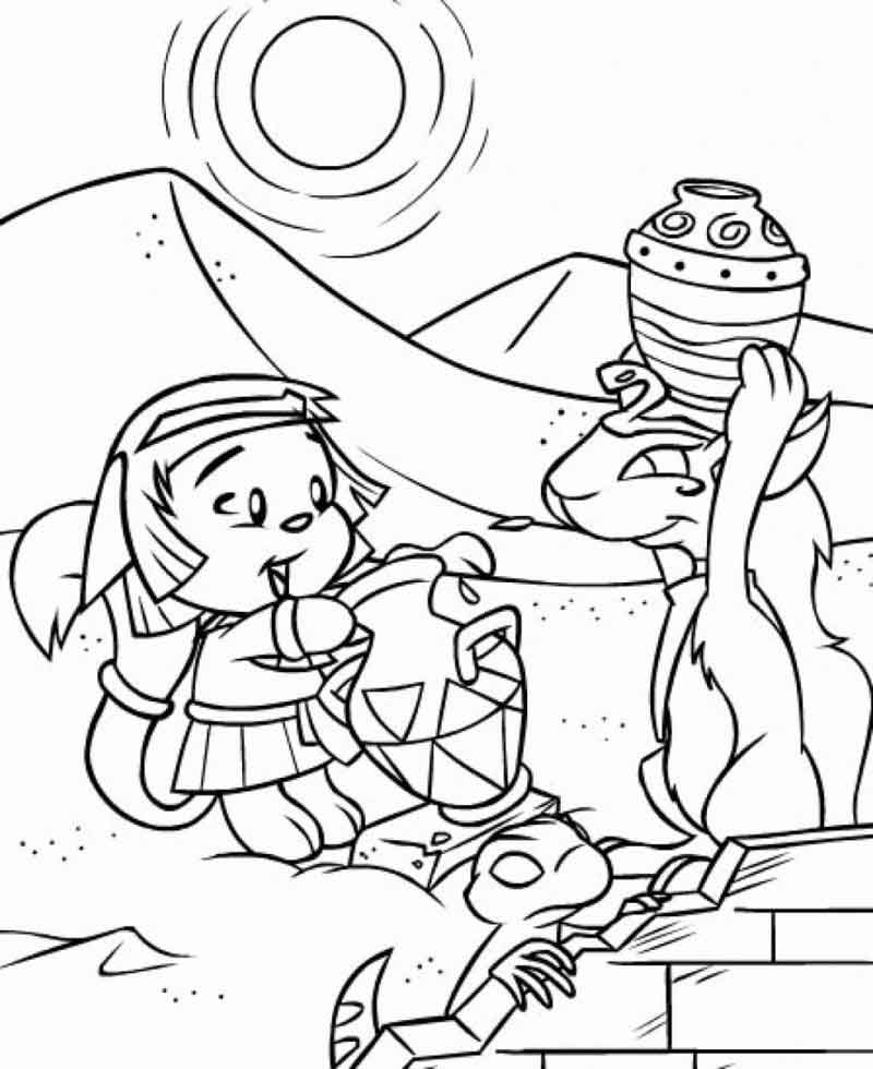 Free Printable Neopets Coloring Pages