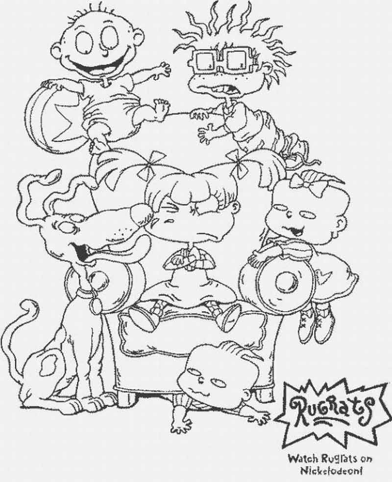 Free Rugrats Coloring Pages