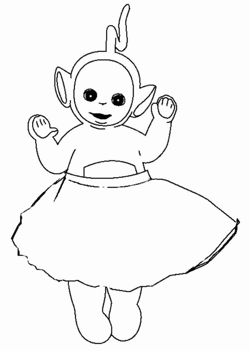 Free Teletubbies Coloring Pages