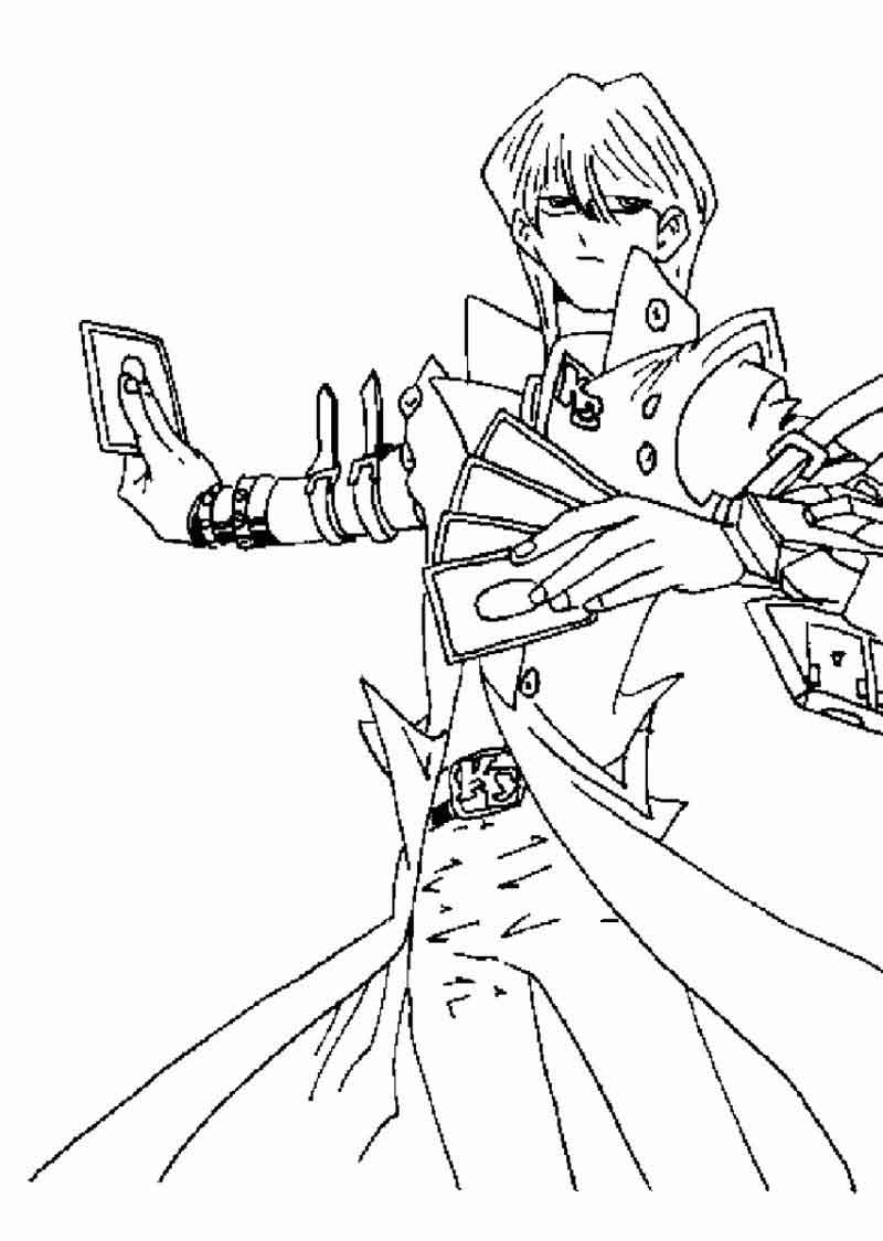 Free Yugioh Coloring Pages