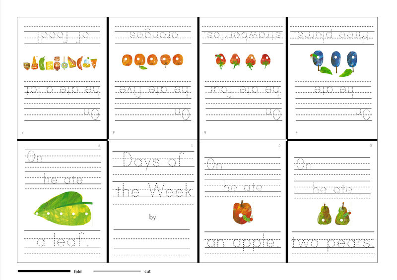 Free Days Of The Week Worksheets Free
