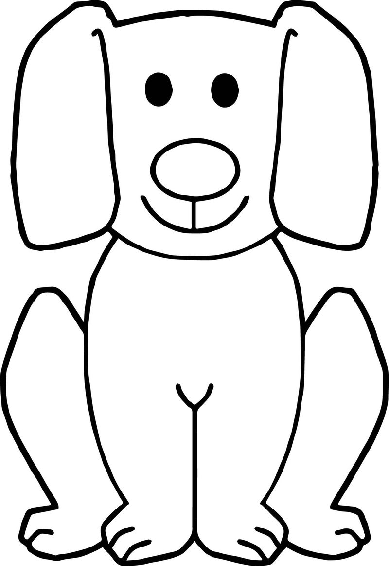 Free Dog Images Puppy Dog Coloring Page