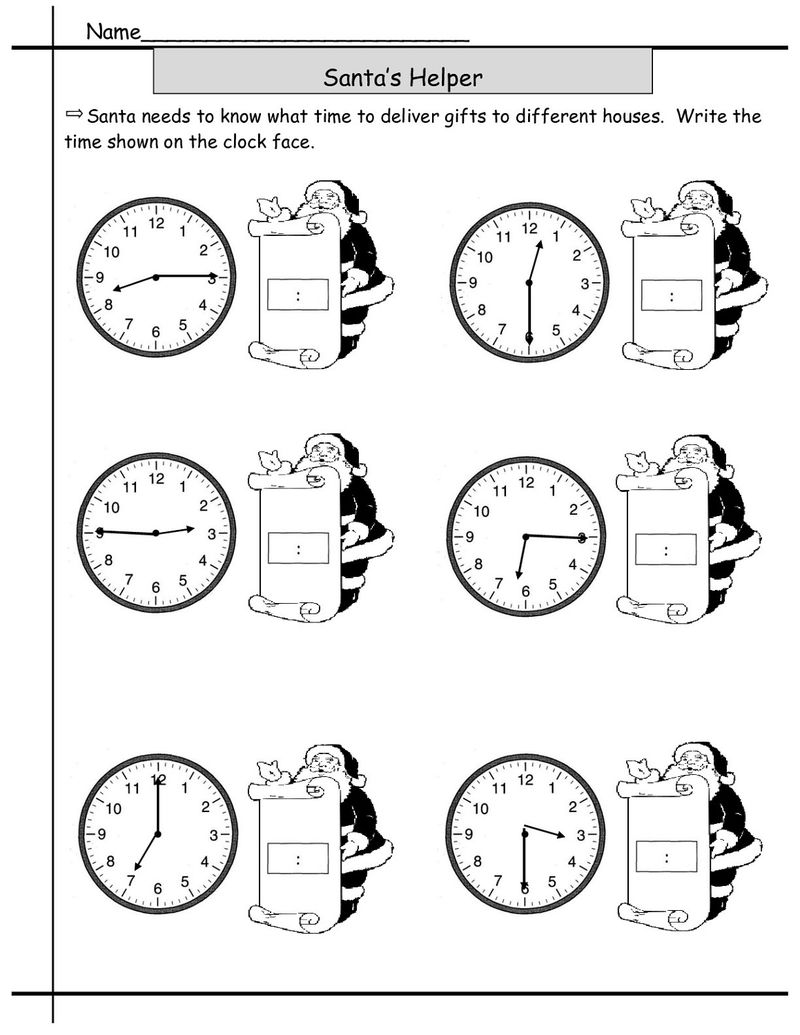 Free Elapsed Time Worksheets For Kids