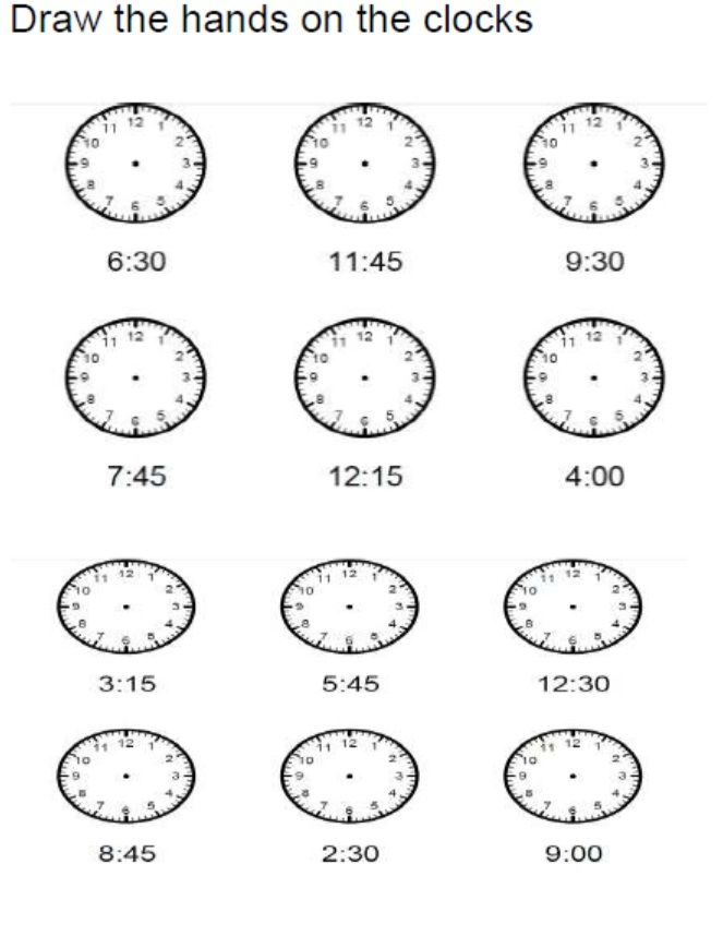 Free Elapsed Time Worksheets No Hands 001