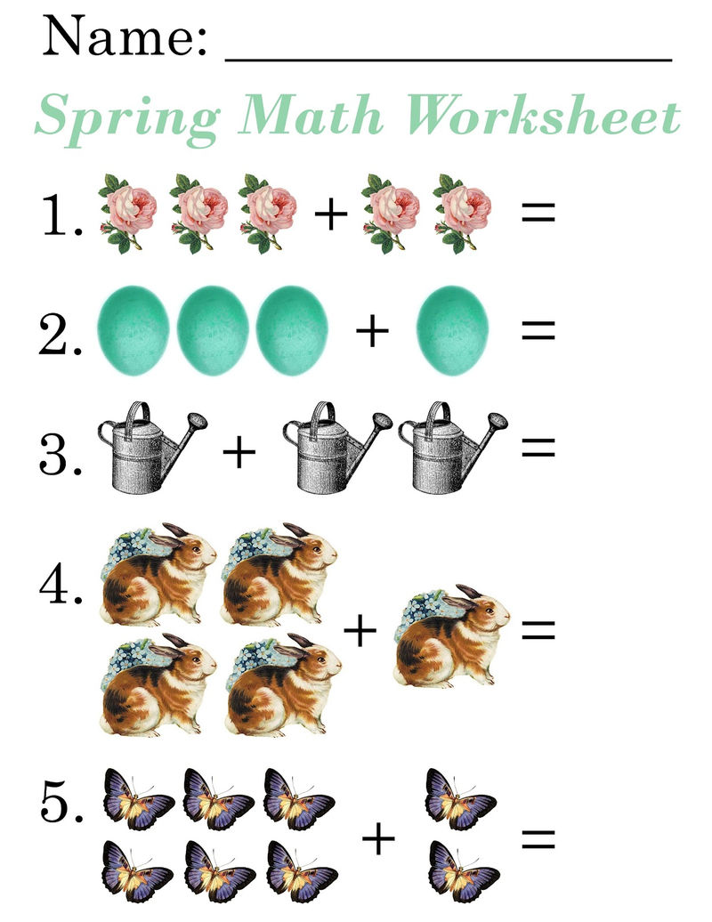 Free Fun Math Worksheets For 2nd Grade