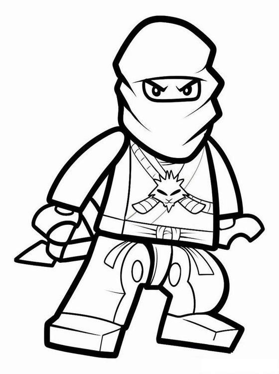 Free lego ninjago coloring pages 001