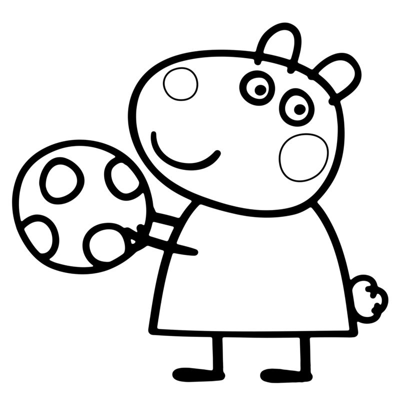 Free Peppa Pig Coloring Pictures