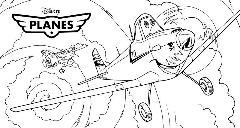 Free Planes Coloring Pages 1