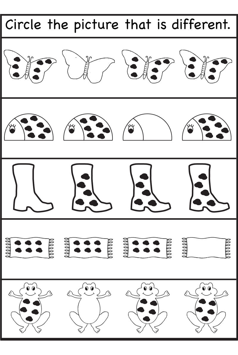 Free Printable Activities For Kindergarten Toddler