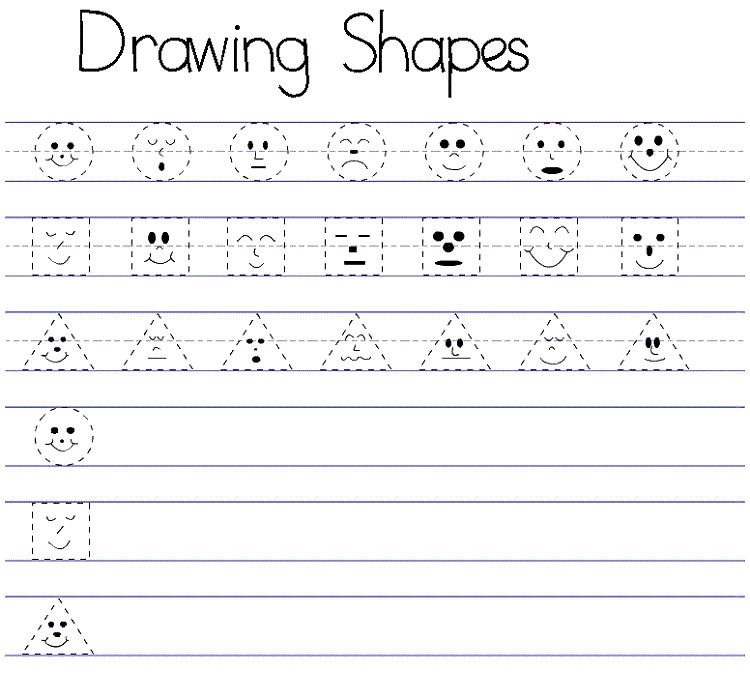 Free Printable Activities For Toddlers Drawing