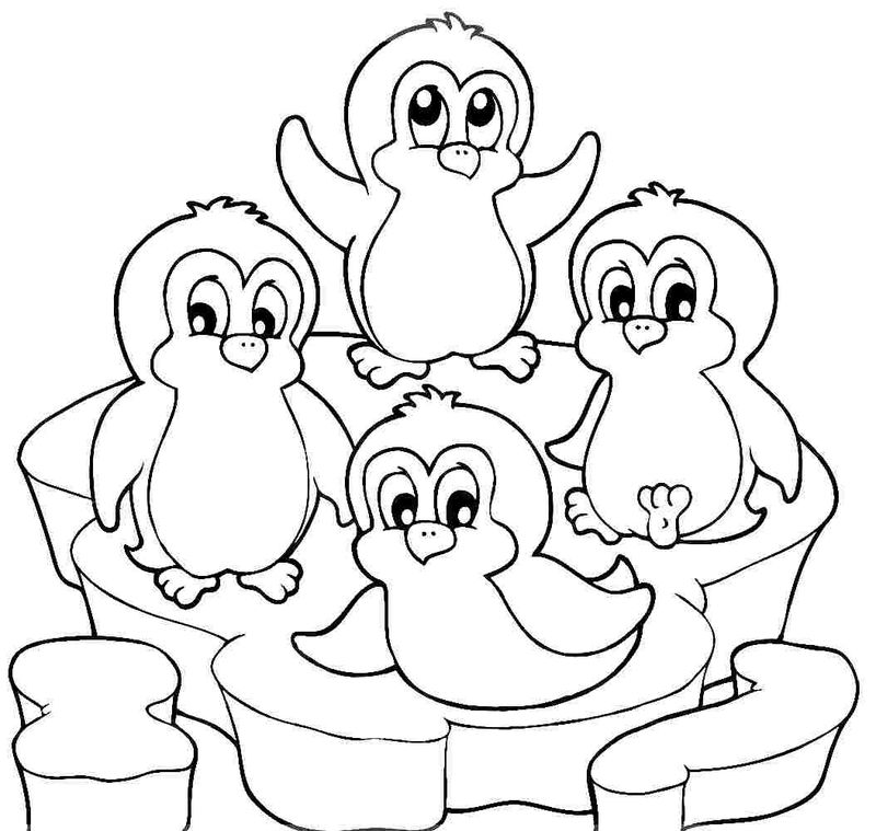 Free Printable Activity Sheets Penguin