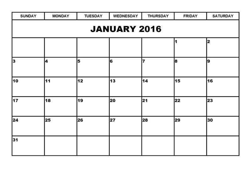 Free Printable Calendar Templates First Month