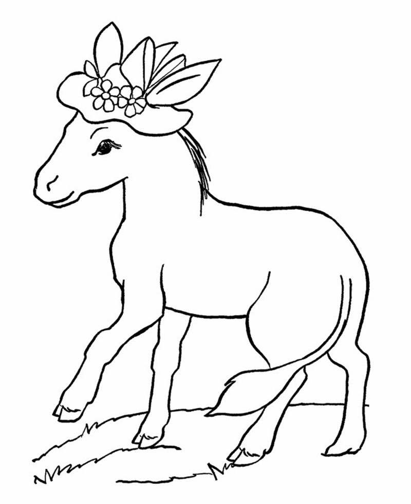 Free Printable Coloring Pages For Toddlers Animal