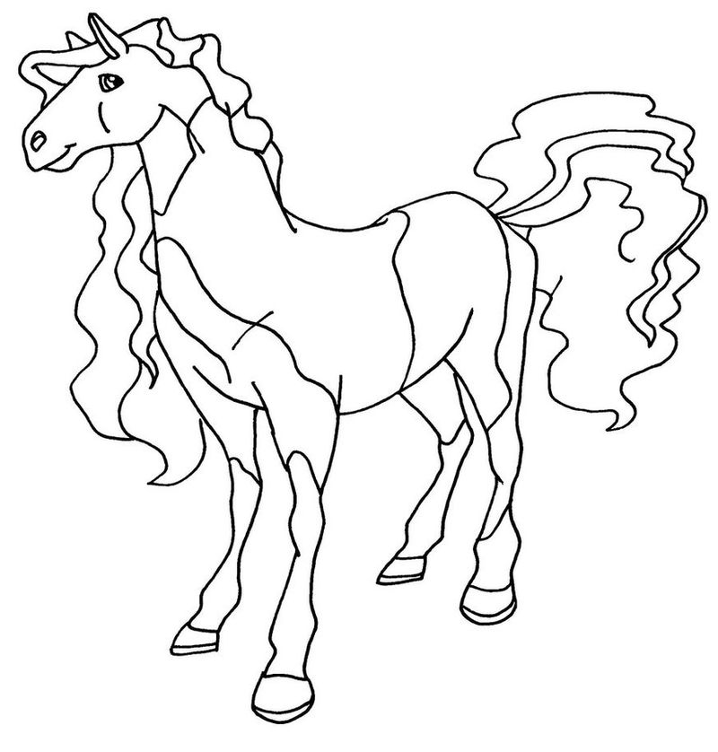 Free Printable Horseland Coloring Pages