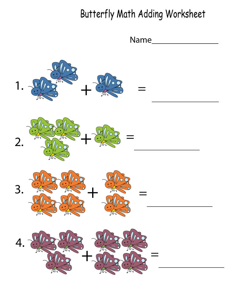 Free Printable Math Worksheets For Kids Addition