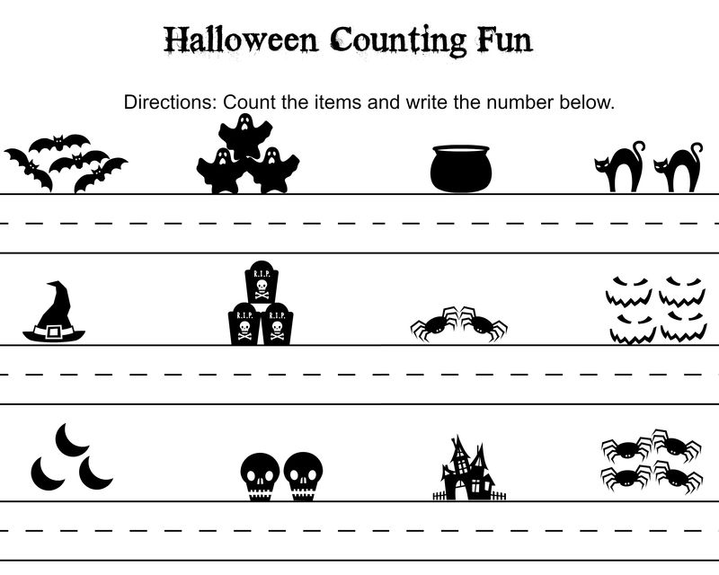 Free Printable Math Worksheets For Kids Counting