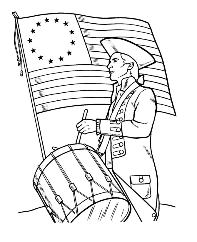 Free Printable Memorial Day Coloring Pages