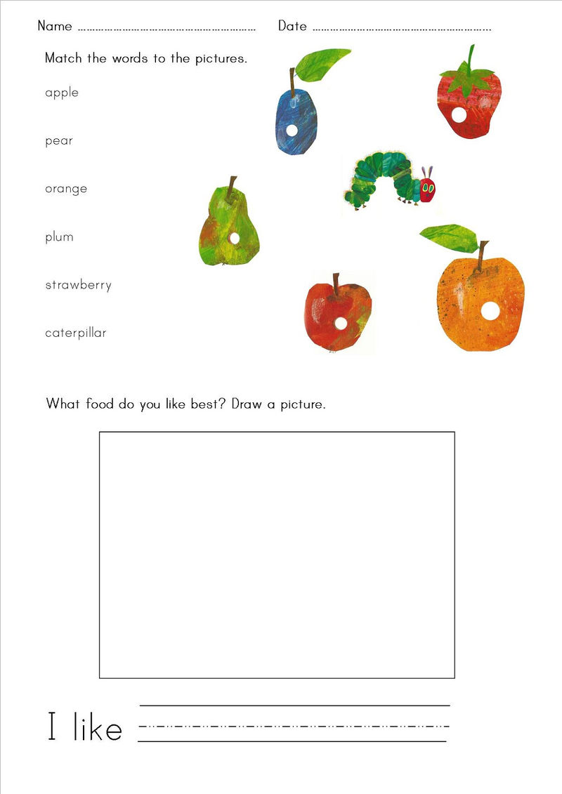 Free Printable Resources Fruit