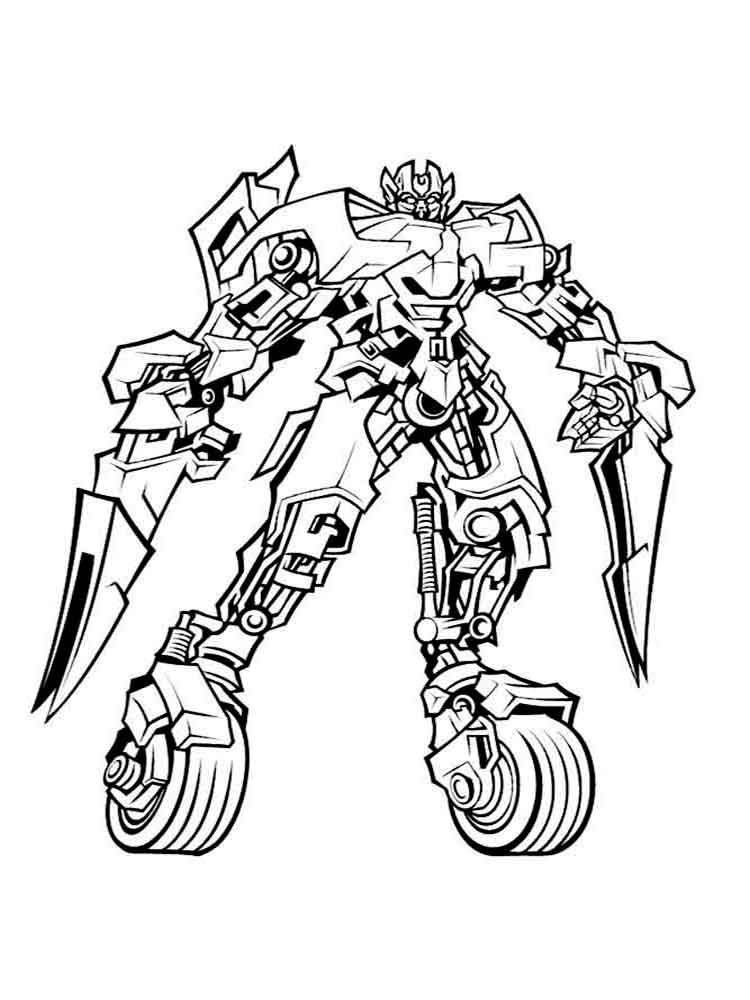 Free Printable Transformer Coloring Pages