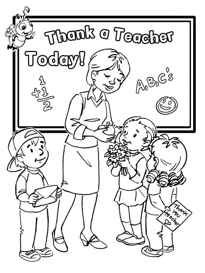 Free Printables For Teachers Coloring