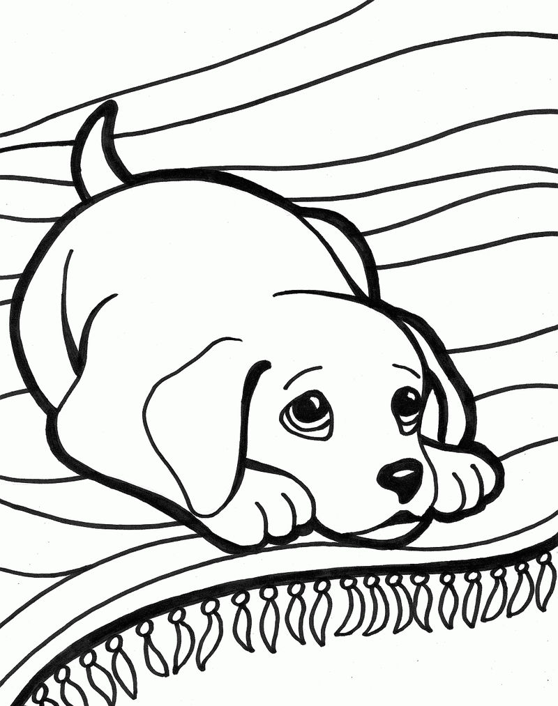 Free Puppy Dog Coloring Pages
